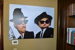 Blues Brothers 9 x 12 Limited Edition on Canvas