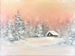 """""""Sunset at the Cabin"""""""