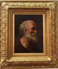 Old master portrait of an Italian man