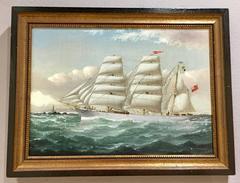 St Cuthbert , An English merchant ship off the Coast of England