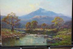 Scottish Highland River Landscape