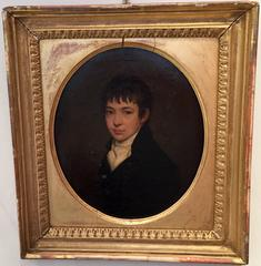 Oval Portrait of a young English boy