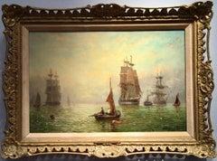 Impressionist English marine scene