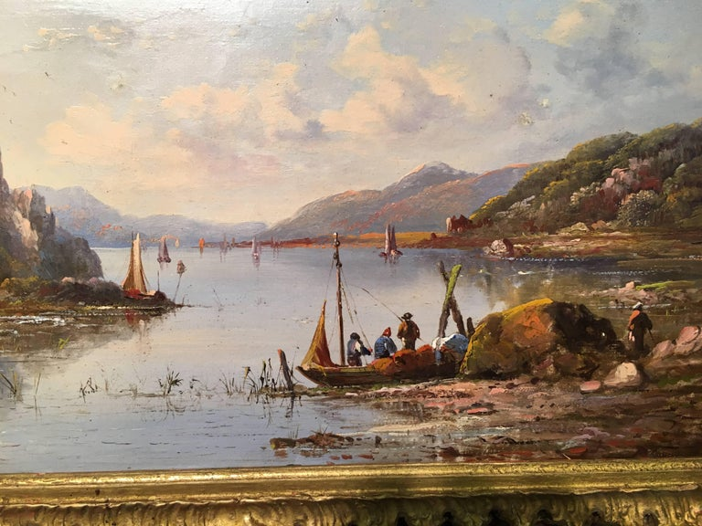 Scottish River landscape - Painting by William Williams (painter)