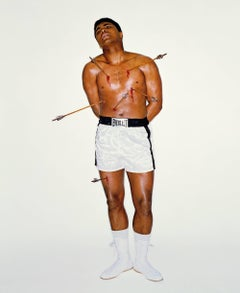 Muhammad Ali as Saint Sebastian, Color Photography, Fine Art Print