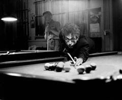 Bob Dylan Playing Pool, Kingston, NY