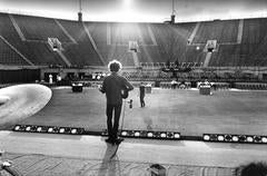 Bob Dylan Sound Check, Forest Hills Stadium, NYC