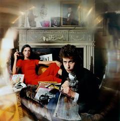 Bob Dylan & Sally Grossman Bringing It All Back Home Album Cover, Woodstock, NY