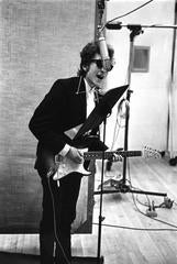 Bob Dylan Recording Bringing It All Back Home at Columbia Records, NYC