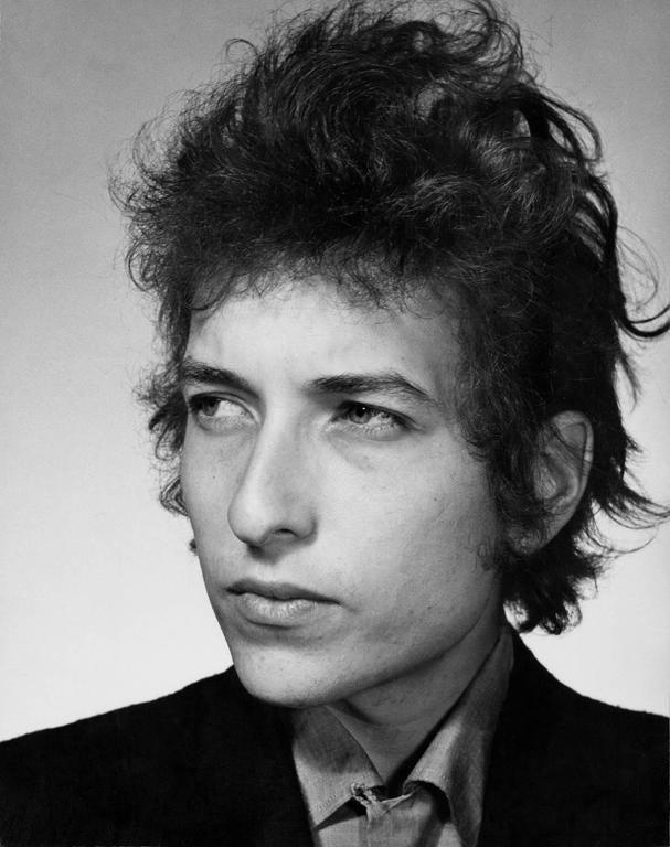 Daniel Kramer Black and White Photograph - Bob Dylan Biograph Album Cover, NYC