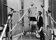 Bob Dylan with Microphones