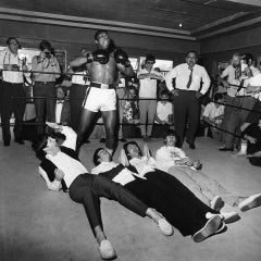 Cassius Clay and the Beatles, Miami