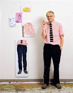 David Hockney in the Studio (Los Angeles)
