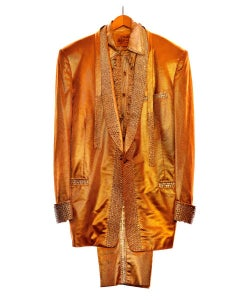 Elvis Presley's Gold Lamé Suit, Graceland, Memphis, 1991
