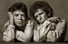 Mick Jagger & Keith Richards, New York City, 1989