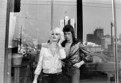David Bowie with Cyrinda Foxe