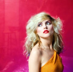 Pink Debbie Harry, Color Photography, Fine Art Print, Music Photography