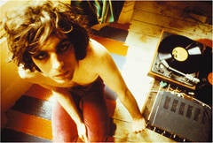 Syd Barrett with Record Player