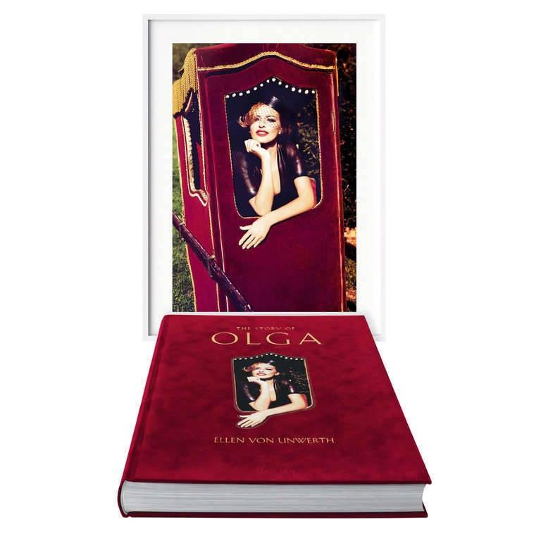 Ellen von Unwerth, The Story of Olga, Art Edition B - Photograph by Ellen von Unwerth