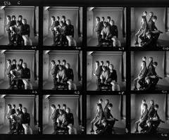 The Rolling Stones - Mason's Yard Contact Sheet