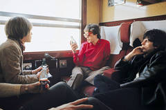 The Rolling Stones on the Train from Marseilles