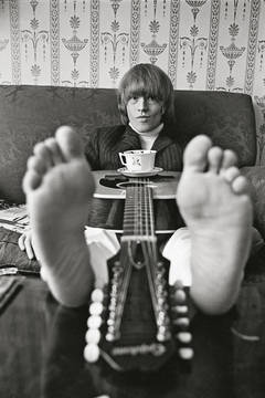 Brian Jones at Home, London