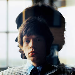 """Silhouette"" Mick Jagger at Home, London"