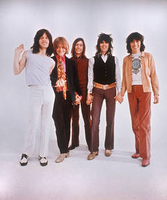The Rolling Stones Holding Hands
