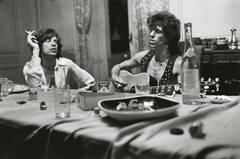 Mick and Keith Dining