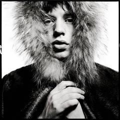 Mick Jagger - Fur Hood
