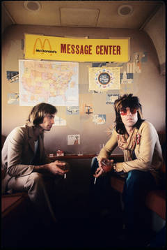 "Charlie Watts and Keith Richards ""Message Center"""