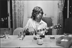 Mick with a Guitar