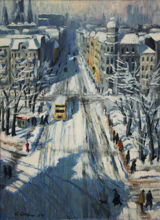 Elisabeth Wolf Berliner Stra 223 Enansicht Im Winter