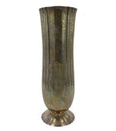Silver Vase by Josef Hoffmann for Wiener Werkstätte, circa 1925