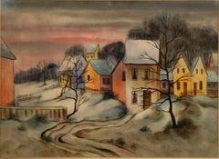 Stadtansicht im Winter (cityscape in the winter)