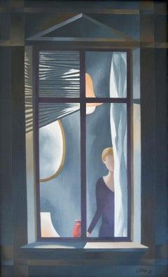 Frau am Fenster (woman at the window)