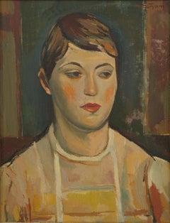 Damenporträt (portrait of a lady)