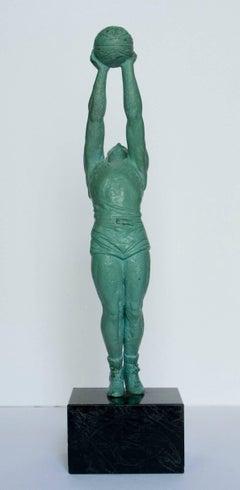 The Gymnast - Regulé, Sculpture, Figurative, Art deco, 20th Century,