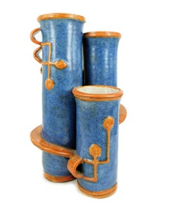 Vase by Gudrun Baudisch for Wiener Werkstätte, 1926