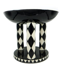 Vienna Werkstatte Ceramics, Gmundner Keramik, big bowl, by Michael Powolny
