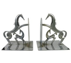 Two Bookends with Horses