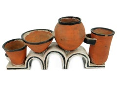 Small Pots for Cactuses by Gudrun Baudisch / Wiener Werkstatte