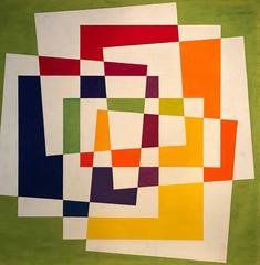 Geometric Abstract Painting - Amazing Shapes & Colors