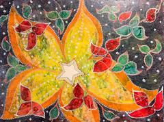 Christmas Festivities - Colourful Surrealist Painting - ELVIC STEELE (1920-1997)