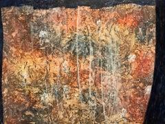 Veil of Time - 60's Surrealist Oil Painting - ELVIC STEELE (1920-1997)