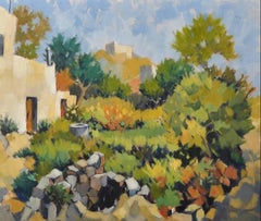 French Impressionist Oil Painting Provencal Landscape