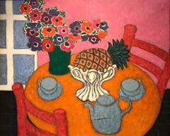 Circle of Henri Matisse Very Large Oil Painting Kitchen Still Life