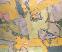 Parisian Abstract Expressionist Original Oil Painting