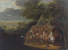 Rare & Important 17th Century Dutch Oil Painting on Wood Panel