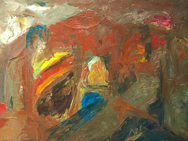 Isaiah gerard calleja original british expressionist for Original abstract paintings for sale